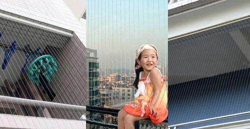 Lưới an toàn ban công - An toàn cho trẻ nhỏ